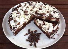 Dvojfarebná čokoládová torta