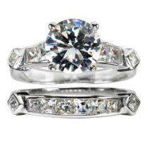 Brooke's CZ Wedding Ring Set Size 11