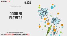pixel77-free-vector-doodled-flowers-0408-600