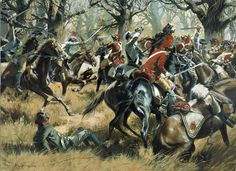 The Battle of Cowpens by Don Troiani