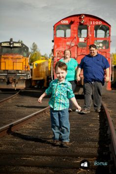 So important to get family photos done, I mean they don't stay little like this forever! --Focus In Photography | Tacoma based Family Photographer | All Aboard With the Wheeler Family