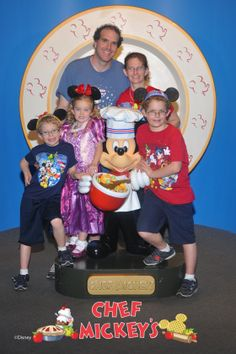 I am thankful to still feel like a kid at Chef Mickey!