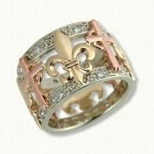Image result for fleur de lis jewellery