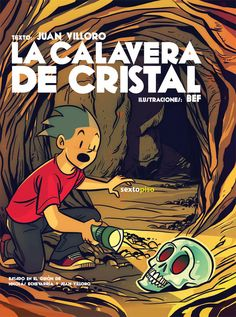 La calavera de cristal / texto, Juan Villoro ; ilustraciones, BEF ; basado en el guión de Nicolás Echevarría y Juan Villoro http://fama.us.es/record=b2688517~S5*spi