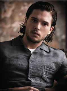 Can we all stop perving on Kit Harington's body? The man's an ...