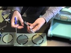 Karen Burniston Accordion Album dies for Elizabeth Craft Designs - YouTube