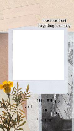 -Pin by Hicrete Dilmen Polaroid Picture Frame, Polaroid Pictures, Creative Instagram Stories, Instagram Story Ideas, Aesthetic Pastel Wallpaper, Aesthetic Wallpapers, Instagram Frame Template, Polaroid Template, Photo Collage Template