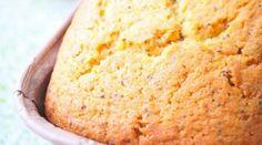 Cake à la crème fraîche au citron · Aux délices du palais Creme Fraiche, Naan, Banana Bread, Cheese, Alain Ducasse, Cake Fondant, Food, Home Made Cupcakes, Brioche