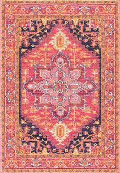 Nuloom Fancy Persian Vonda Pink Area Rug
