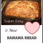 Looking for an easy  banana bread recipe to compliment your upcoming holiday dinners? This is it! This banana bread not only tastes amazing, but fills your home with a rich yummy scent, another sure indication the holidays are here. What you will need: 1/4 tsp Salt 1/2 tsp Cinnamon (optional) 1 tsp Baking Soda 1 [...]