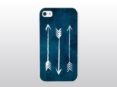 Indigo iPhone Case Arrow iPhone Case Blue by GoldenDaysDesigns, $16.00
