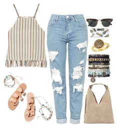 Boho Summer Outfit by alyssanicolesmith on Polyvore