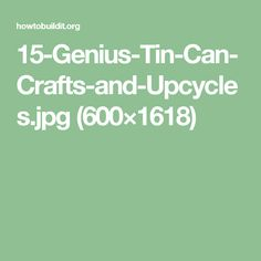 15-Genius-Tin-Can-Crafts-and-Upcycles.jpg (600×1618)