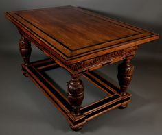 A Rare Dutch or Flemish Center Table - Late Renaissance / Early Baroque (1630)