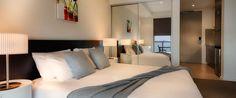 Caroline Serviced Apartments Brighton - Studio bedroom
