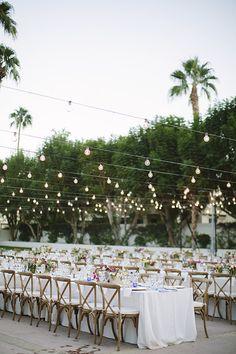 Palm desert wedding   Photo by joielala photo   Read more - http://www.100layercake.com/blog/?p=84389