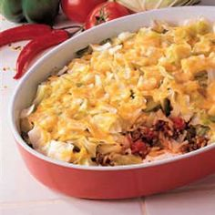 Cajun Cabbage Recipe. Looking for a different treatment for cabbage? Try this spicy cheese-topped dish that I adapted from a friends recipe. I added a little of this and that until it tasted the way I wanted. Not only do my husband and kids like it, I get rave reviews when I make it for company or church functions.