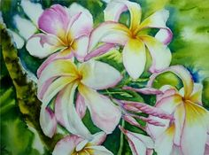 Exotic Flowers, Art Club, Landscape Paintings, Watercolor, Portrait, Gallery, Artist, Artwork, Plants