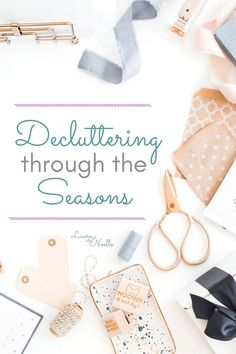 Decluttering through the seasons can simplify and streamline your home organization. Plus, grab the free seasonal worksheets to keep you on track! Organizing Your Home, Home Organization, Getting Rid Of Clutter, Clutter Free Home, Declutter Your Life, Minimalist Home, Simple Living, Spring Cleaning, Home Interior