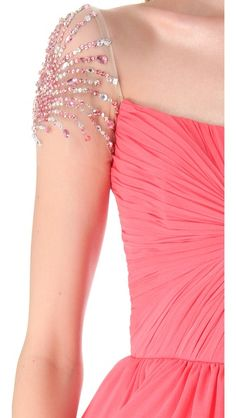 Sparkly Sleeve - You need to add sleeves to be dress code compliant???