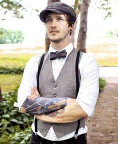 I want my future husband to wear this for my 50s theme wedding...