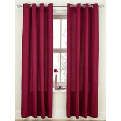 Canvas Lightweight Eyelet Unlined Curtains (29 CAD) ❤ liked on Polyvore featuring home, home decor, window treatments, curtains, canvas home decor, pleated window treatments, canvas curtains and window drapery
