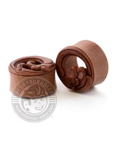 """Description What is it? Great for your ears and easy on the nose, wood plugs are always a great idea. Try not to wear them in water, and make sure you keep them away from fire. Product Details What is it made of? Material: Sawo Wood (Mankara Kauki) Plug Size: 2g-1"""" Wearable Area: 10.8mm *Please note that these measurements are based on averages* Class: Wood Color: Dark Brown Wood Plugs, Plugs Earrings, Tunnels And Plugs, Ear Gauges, Stretched Ears, Rip Curl, Wood Colors, Body Jewelry, Waves"""