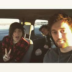 Denis Stoff, Ben Bruce, and Sam Bettley // Asking Alexandria