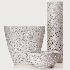 Studio Floral Dora Santoro: Ceramica Rendada