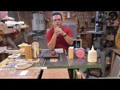 Tournage sur bois - Bois sec et Bois vert - YouTube