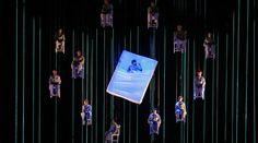 Es Devlin – Set design for Benjamin Britten's A Midsummer Nights Dream, Hamburg Staatsoper, 2006