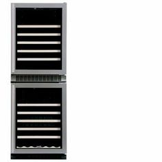 Marvel Luxury Series 90 Bottle Wine Cooler- 66WCM by Marvel. $3723.00. This stellar performer, with its glossy black interior, is the stylish solution to serious wine connoisseurs' storage and display needs. The upper and lower compartments have independent cooling systems, allowing you to set each to its own desired temperature.At Marvel, we believe that confining refrigeration to the kitchen is like keeping a fine wine bottled forever. Your lifestyle simply demands mor...
