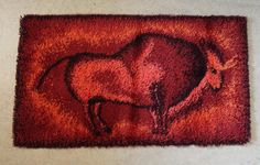 70s Danish Rya rug
