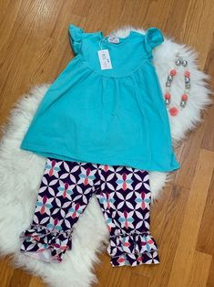 NWT Pete And Lucy Capris Set 2t - #capris #Lucy #Nwt #Pete #set - #capris #Lucy #Nwt #Pete #set Summer Romper, Girls Dresses, Summer Dresses, New Girl, New Dress, Kids Outfits, Capri, Rompers, Romper