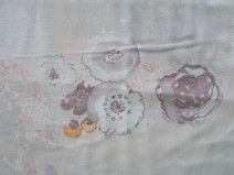 Peach Floral Rug by Barbarian // Barbra Ignatiev Sink Accessories, Decorative Accessories, Accent Colors, Neutral Colors, Peach Bathroom, Ocean Home Decor, Fragrant Candles, Floral Shower Curtains, Butterflies Flying
