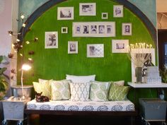 "Laura's ""Moroccan Modern"" Room — Room for Color 2011 Love Your Home, My Dream Home, Moroccan Decor, Modern Moroccan, Moroccan Bedroom, Bohemian House, Bedroom Green, Lounge Areas, Room Themes"