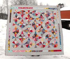 kaleidoscope quilt.