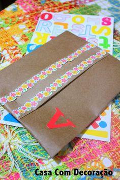 Casa Com Decoração- Blog de Decoração: Embalagem de presente personalizada