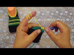 Ciabatta, Triangle, Crochet, Youtube, Slipper, Socks, Chrochet, Crocheting, Knits
