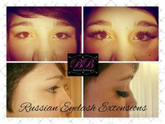 Volume eyelash extensions by Beaute Boutique xx