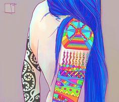 Phazed trippy psychedelic sg rainbow