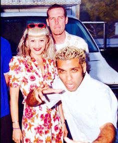 Gwen, Tony and Tom