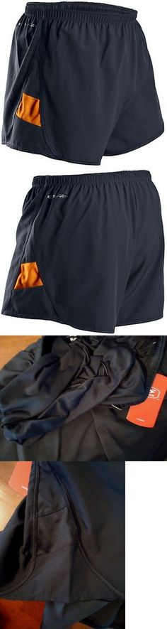 Other Mens Fitness Clothing 40892: Sugoi Titan Run Short Mens Large Gray Orange Reflective Lined Active Performance -> BUY IT NOW ONLY: $36.95 on eBay!