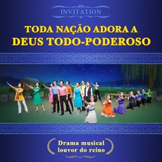 Kingdom Praise Musical Drama—Every Nation Worships the Practical God Worship Songs, Praise And Worship, Praise God, Worship Dance, Teatro Musical, Christian Music, Christian Faith, Drama, Musical Gospel