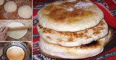 Cum să faci TURTE coapte în ceaun, că la bunica acasă – Mai bune decât pâinea din comerţ    Ingrediente:  1 kg făină albă sau integrală (după preferinţele fiecăruia)  puţină sare  40 gr drojdie proaspătă  seminţe de chimen (opţional)  2 linguri ulei (de floarea-soarelui sau de măsline)  nişte apă călduţă    Mod de preparare:    1. Cerne făină într-un lighean mai mare şi fă o gaură în ea.  2. Dizolvă drojdia în apă călduţă. Adaugă şi 2-3 linguri de făină şi las-o departe până la 15 minute… Pancakes, Ale, Cooking, Breakfast, Breads, Outdoor, Dark Eye Circles, Baked Goods, Bread