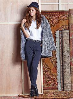 SNSD Yuri & Vivian Cha - Sure Magazine November Issue '15
