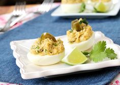 Jalapeno Deviled Eggs - dialysis friendly