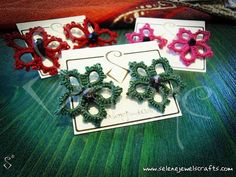 Little Autumn 2013 Earrings!  https://www.facebook.com/selene.jewels.crafts1?hc_location=stream