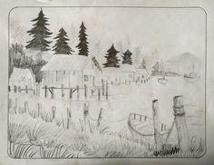 Random Landscape Drawing