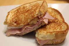 THE BUSY MOM CAFE: Hawaiian Pizza Grilled Cheese Sandwich